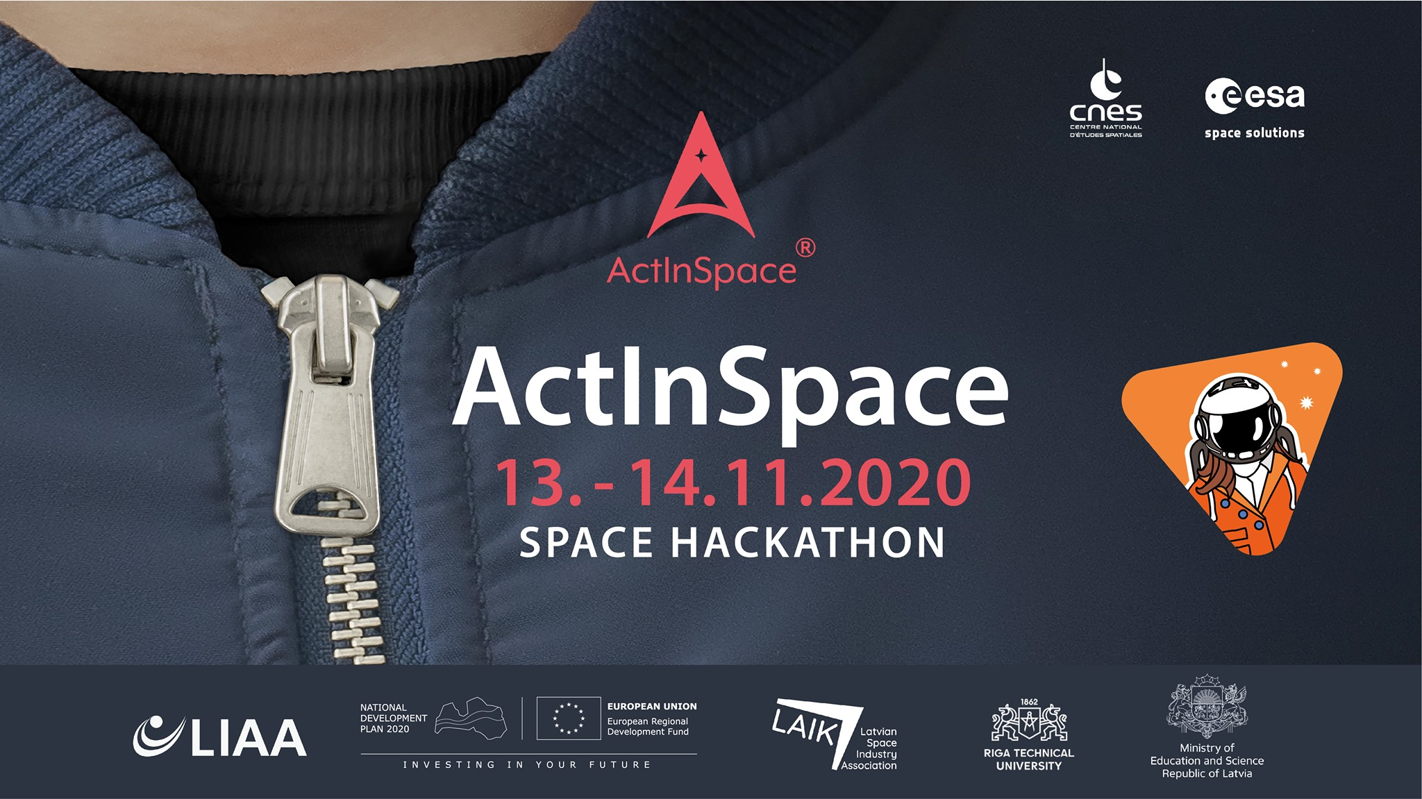 Act In Space 24h hakatons