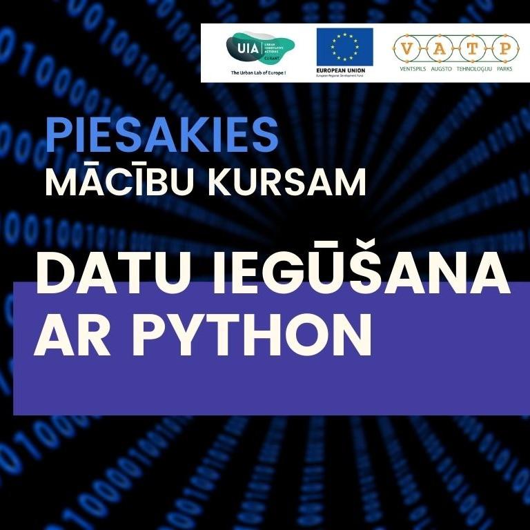 """Apmācības """"Datu iegūšana ar Python"""""""