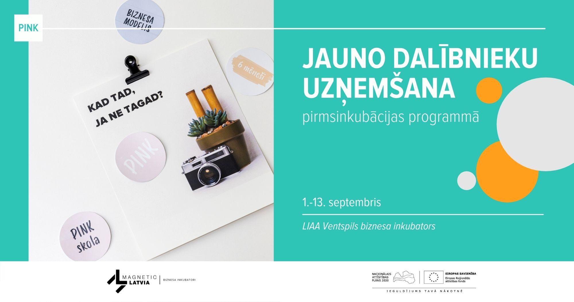 No 1. septembra sākas pieteikšanās LIAA biznesa inkubatoru pirmsinkubācijas programmā